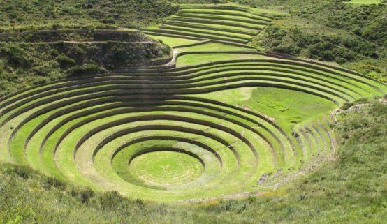 Террасы Морай, Перу